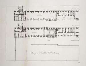 MUO-055694/05: Glavni tlocrt palače Tuileries 1: grafika