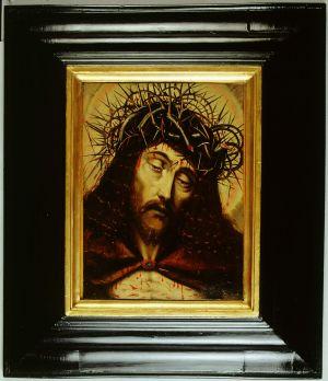 MUO-000003: Isus s trnovom krunom: slika