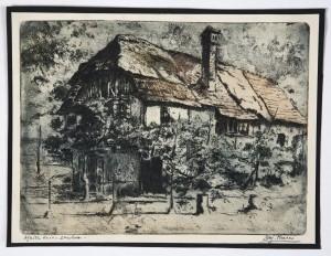 MUO-025581: Seljačka kuća u Samoboru: grafika