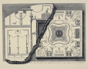 MUO-057436/20: Volta, e Parete d' una delle Cammere  appartenenti alla fabrica di delizia contigua al circo di Caracalla: grafika