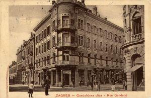 MUO-038510: Zagreb - Gundulićeva ulica; kuća Kallina: razglednica