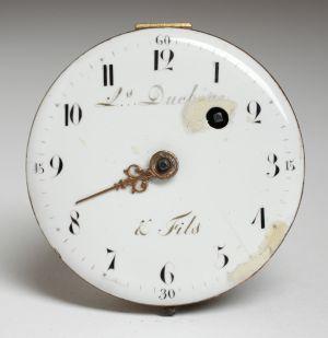 MUO-009054: mehanizam, brojčanik džepnog sata