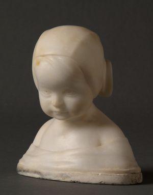 MUO-043160: POPRSJE DJEVOJČICE: statueta