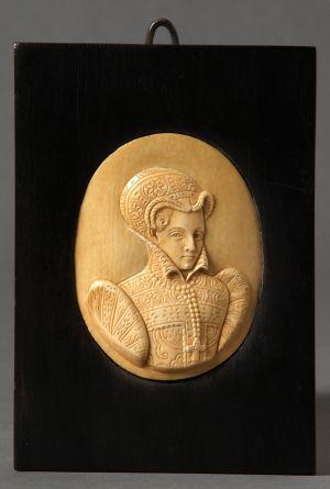 MUO-005278: Marija Stuart: reljefni portret