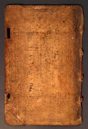 MUO-003774: Korice knjige: korice za knjigu - fragment