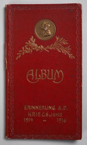 MUO-024989: Album Erinnerung a.d. Kriegsjahr 1914-1916: uvez