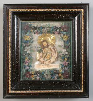 MUO-024003: Sv. Josip: posvetna slika