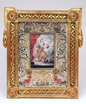 MUO-016276: Sv. Josip s Isusom: posvetna slika