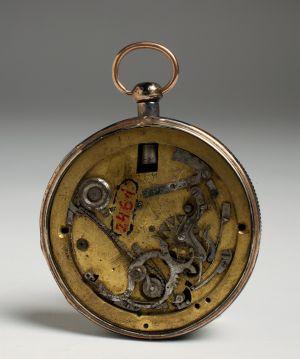 MUO-002461: kućište, mehanizam džepnog sata