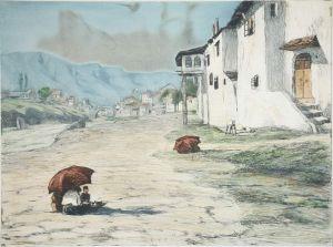 MUO-004784: Veduta Mostara: grafika