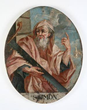 MUO-004556: Sv. Šimun: slika