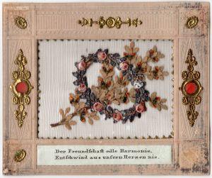 MUO-005684: Der Freundschaft edle Harmonie...: čestitka