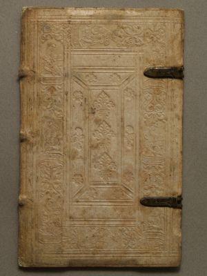 MUO-003762: Korice knjige: korice za knjigu- fragment