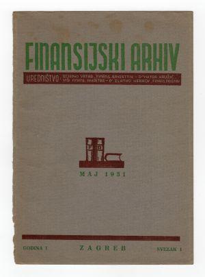 MUO-008308/18: FINANSIJSKI ARHIV: korice za časopis