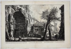 MUO-051052: Veduta dell Arco di Tito ...: grafika