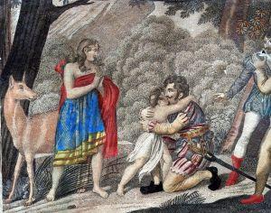 MUO-005052: Susret Genoveve i Siegrieda: grafika
