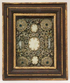 MUO-002713: Papa Inocent XII s relikvijama sv. Marcelina i sv. Peregrina: relikvijar