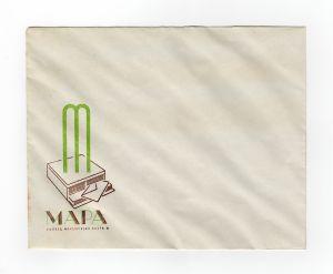 MUO-008307/33: MAPA konfekcija papira: poštanska omotnica