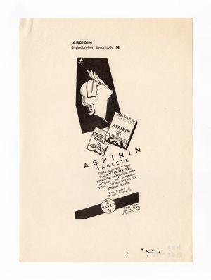 MUO-008302/80: ASPIRIN: novinski oglas