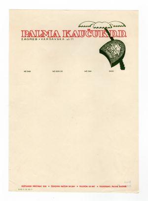 MUO-008307/17: PALMA KAUČUK D.D.: listovni papir
