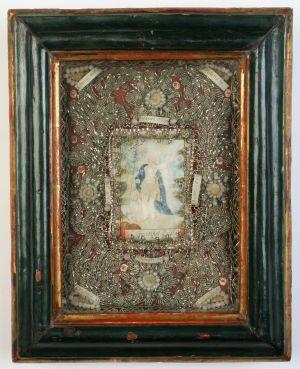 MUO-004597: Sv. Ivan Krstitelj: relikvijar