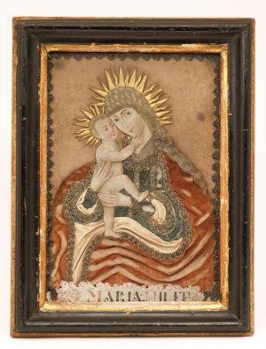 MUO-004622: Majka Božja s Isusom: posvetna slika