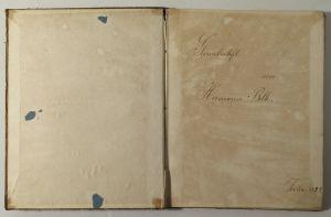 MUO-032245/02: Bilježnica s predavanjima iz geometrije: bilježnica
