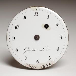 MUO-013461: mehanizam, brojčanik džepnog sata