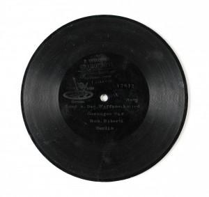 MUO-009266/04: German Bass Lied a. Der Waffenschied (Biberli): ploča