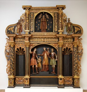 MUO-014897: oltar Kamenovanja sv. Stjepana: oltar