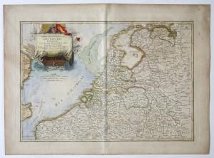 MUO-016270: Karta nizozemskih provincija: grafika