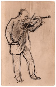 MUO-013442/06: Violinist Karl Hoffmann: razglednica