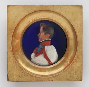 MUO-014452: Ivan Kukuljević Sakcinski mladi: reljefni portret