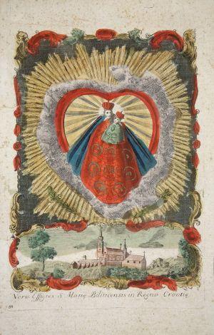 MUO-000139: Majka Božja Bistrička: grafika