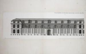 MUO-055697/19: Nacrt jednoga od pročelja kraljevskih konjušnica 1: grafika