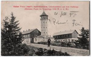 MUO-008745/80: Vidikovac Franje Josipa: razglednica