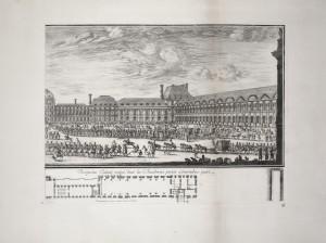 MUO-055694/04: Pogled na palaču Tuileries s ulazne strane 2: grafika