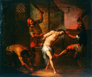 MUO-000018: Bičevanje Krista: slika