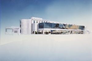 MUO-057456/07: Prodajno-servisna zgrada BMW, Heiligenstädter Lände 27, Beč: arhitektonska studija