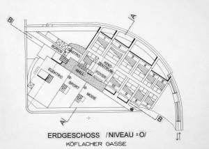 MUO-057509: Glavni kolodvor - Kino i trgovački centar, Eggenbergerstrasse, Graz: arhitektonska studija