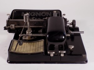 MUO-041085: Mignon Model 3: pisaći stroj