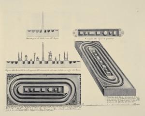 MUO-057436/14: Prikaz mramorne ploče u obliku cirka: grafika