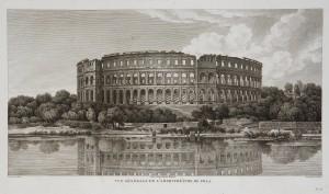 MUO-055865: Vue generale de l'amphitheatre de Pola.: grafika
