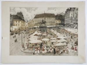 MUO-004730: Jelačićev trg u Zagrebu: grafika