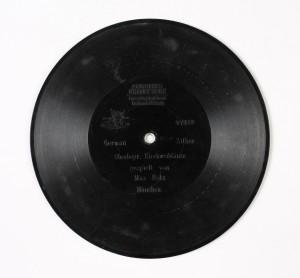 MUO-009266/02: German Zither Oberbayr. Kirchweihänze (Max Hotz): ploča