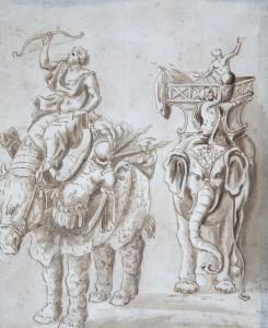 MUO-025347: Imaginarni ratnici: crtež
