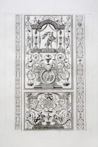 MUO-055695/02: Veliki panel zidnog oslika u Apolonovoj galeriji: grafika