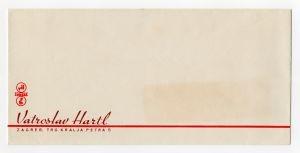 MUO-008307/28: Vatroslav Hartl: poštanska omotnica