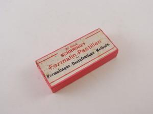 MUO-013351/02: Schering's Formalin-pastillen: kutija