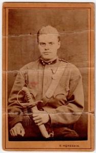 MUO-008345/43: Portret vojnika: fotografija